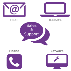 Sales & Support and web development Leeds Bradford